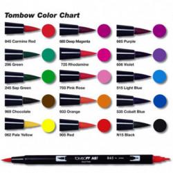 Tombow Dual Brush Pen da 12