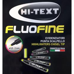 Evidenziatori Hi-Text fluo