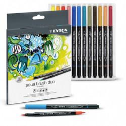 Lyra Aqua Brush Duo
