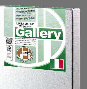 Tela Gallery linea 20 - Media 40x70